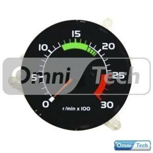 dashboard_equipment_0015_ Volvo 4 Pin Rev Counter Gauge 1698248.